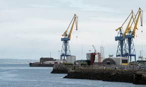 Brexit: Erste Waren überschreiten die Handelsgrenze der Irischen See